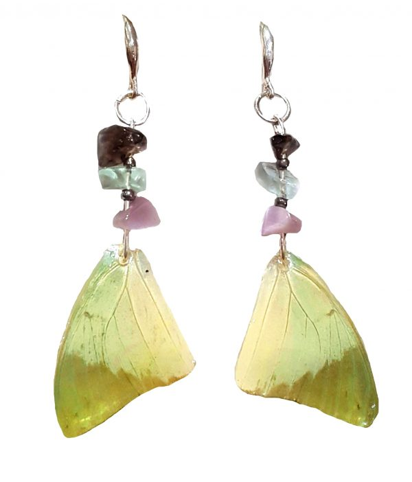butterfly wing earrings, butterfly jewellery jpeg.