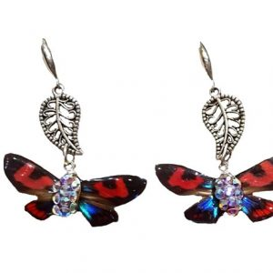 butterfly wing jewelry - butterfly wing earrings jpeg.