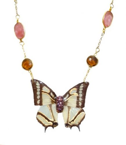 real butterfly wing necklace, butterfly jewelry jpeg.