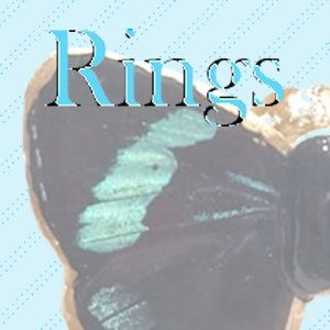 REAL BUTTEFLY WING RINGS