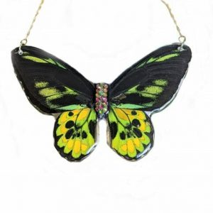 Real Butterfly Necklace