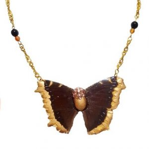 Best Butterfly Wing Necklace, Real Butterfly Wing Jewelry
