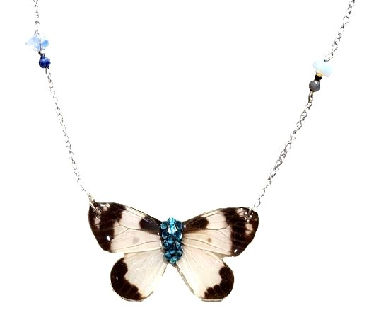real butterfly wing jewelry