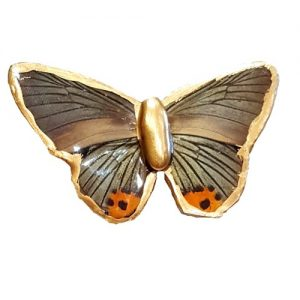 butterfly wing jewelry, butterfly brooch