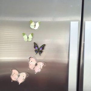butterfly wing jewelry, butterfly magnet