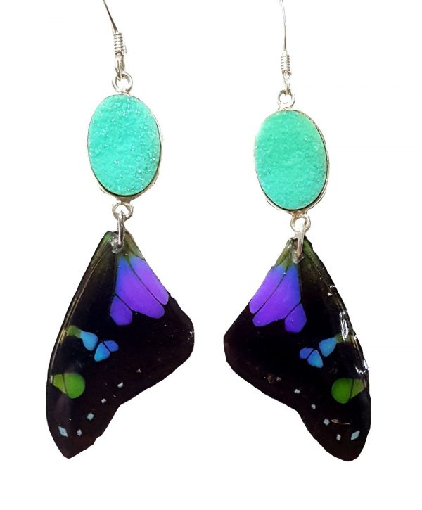 butterfly wing earrings, butterfly wing jewelry jpeg