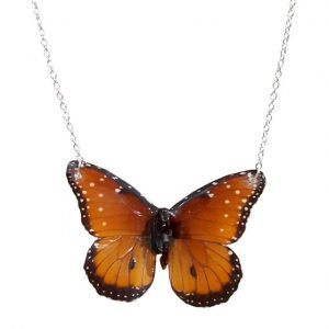 Real Butterfly Wing Jewelry - Real Butterfly Wing Necklace