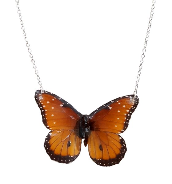 how to make butterfly wing jewelry