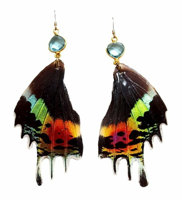 butterfly wing jewellery