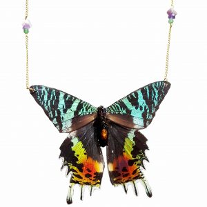 Butterfly Necklace Gold jpeg.