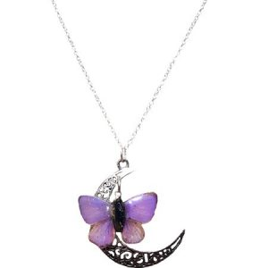 Real Butterfly Wing Jewelry, Real Butterfly Wing Necklace