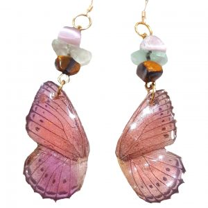 Real Butterfly Wing Jewelry - Real Butterfly Wing Earrings