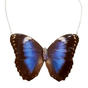 Best Butterfly Wing Necklace, Real Butterfly Wing Necklace