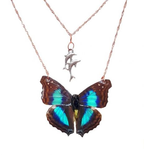 butterfly wing jewelry - butterfly wing necklace jpeg.