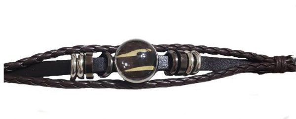 Mens leather bracelet, steampunk jewelry jpeg.