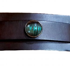 mens leather bracelet butterfly wing jpg.