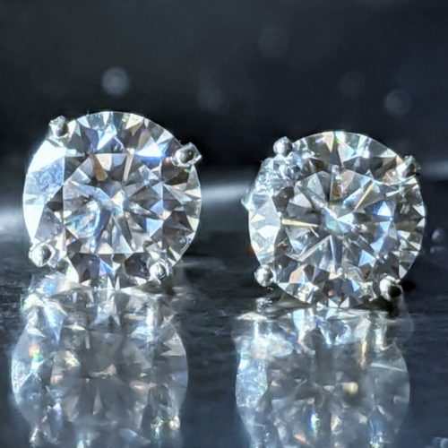 Certified Moissanite stud earrings jpeg.