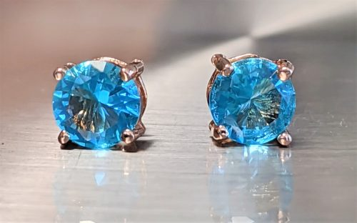 Brazilian-Blue-Tourmaline-Stud-earrings