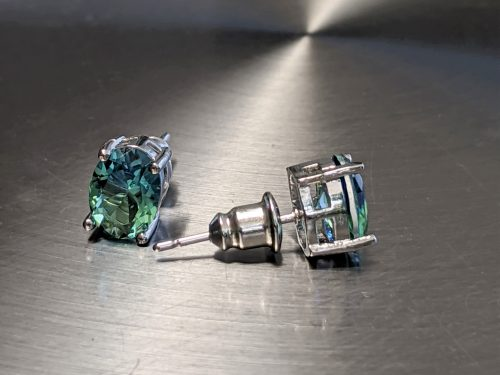 bi-colored-tourmaline-studs