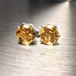 Natural-Citrine-Earrings