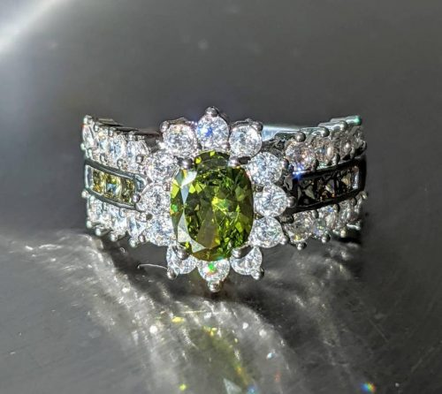 Olive Green Peridot Ring jpeg.
