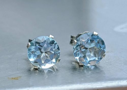 Genuine blue topaz stud earrings jpeg.