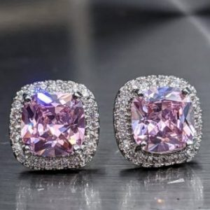 pink tourmaline stud earrings white gold jpeg.