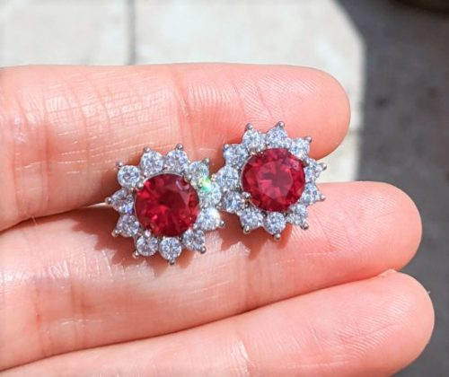 Ruby stud earrings with halo jpeg.