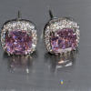 pink tourmaline stud earrings white gold filled jpeg.