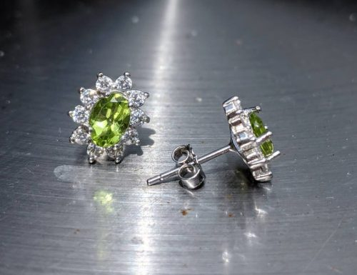 Naturally mined peridot stud earrings sterling silver jpeg.