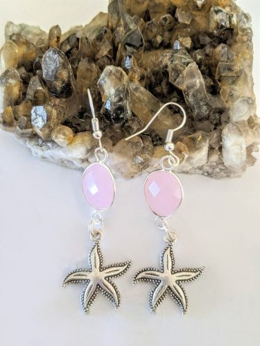 drop starfish earrings silver jpeg.