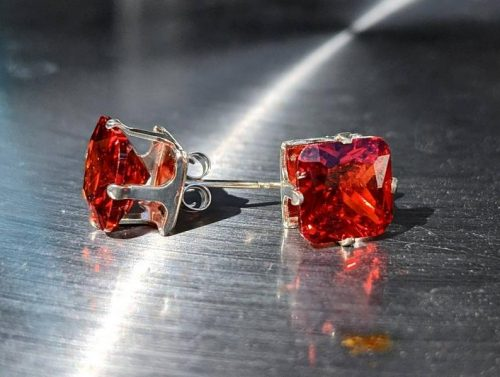 red garnet stud earrings sterling silver jpeg.