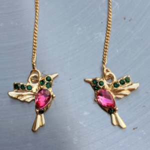 hummingbird threader earrings gold jpeg.