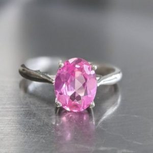 real pink sapphire ring sterling silver jpeg.