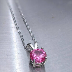 large pink sapphire pendant solid gold jpeg.